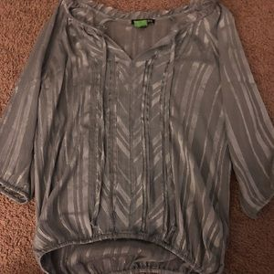 Express top only worn once and dry cleaned